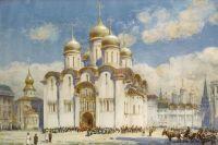 Успенский собор. Картина Генри Чарльза Брюэра.