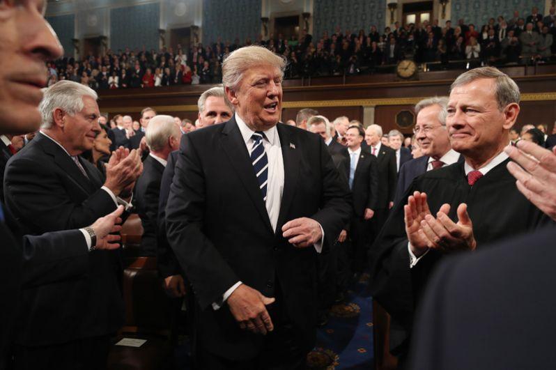 28 февраля. Первое обращение президента США Дональда Трампа к Конгрессу.