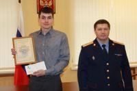 Михаил Руденко (слева)  специально поехал в Кунгур из Перми, чтобы помочь в поисках. На фото - с Сергеем  Сарапульцевым.