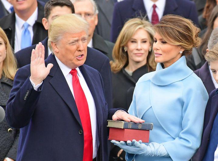 20 января. Инаугурация 45-го президента США Дональда Трампа.