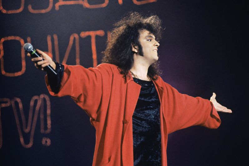 1995 год. Певец Филипп Киркоров.