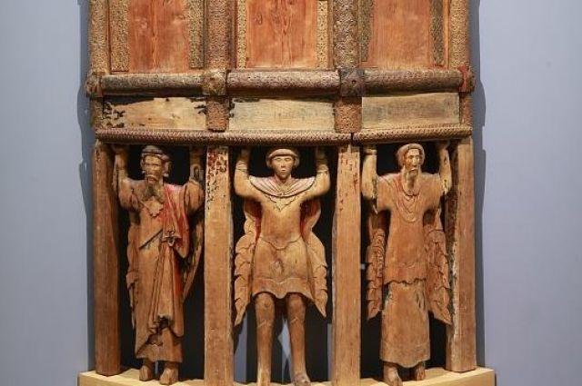 ВРусском музее впервый раз выставят деревянный амвон, неимеющий аналогов вмире
