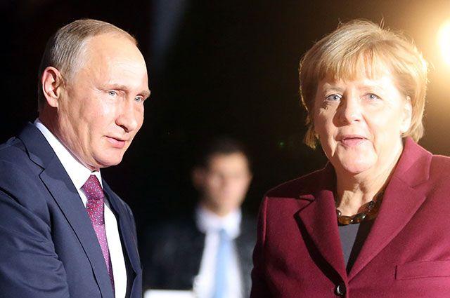 Меркель посещает Саудовскую Аравию: впереди переговоры вАбу-Даби иСочи