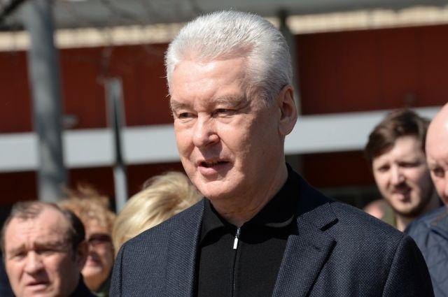 Мэр Москвы принял участие в традиционном весеннем субботнике