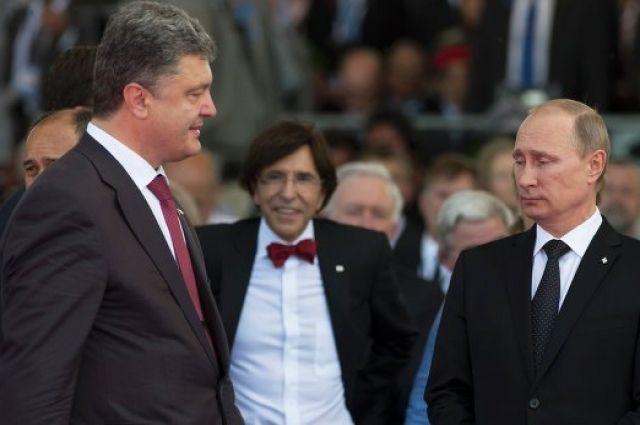 Песков прокомментировал сообщения опереговорах В.Путина иПорошенко