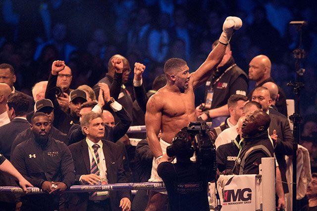 Боксер Джошуа рассказал о своей победе над Кличко