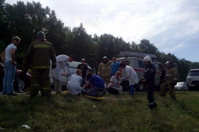 В аварии погибли сразу несколько человек
