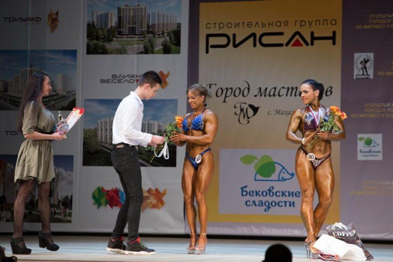 Елена Сергеева стала второй в женском фитнесе...
