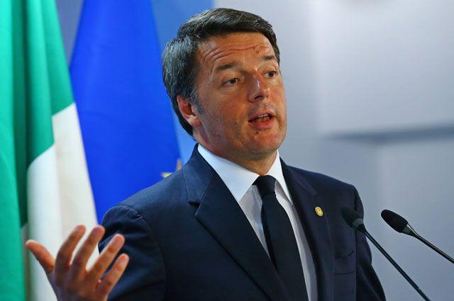 Ренци переизбрали лидером правящей Демпартии Италии