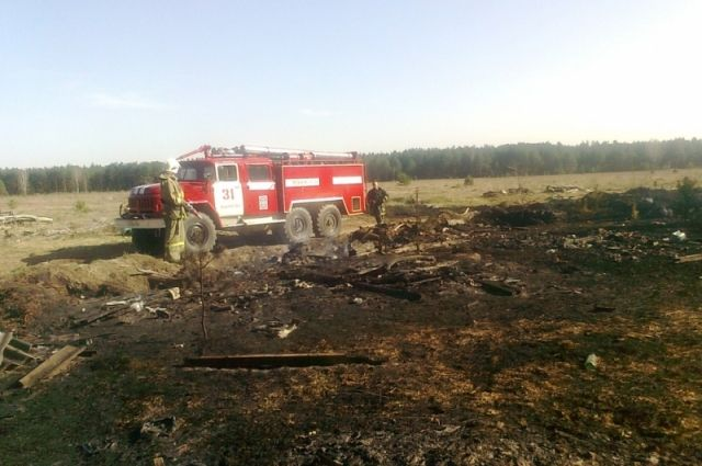Пожарные отбили уогненной стихии деревню Шабаново