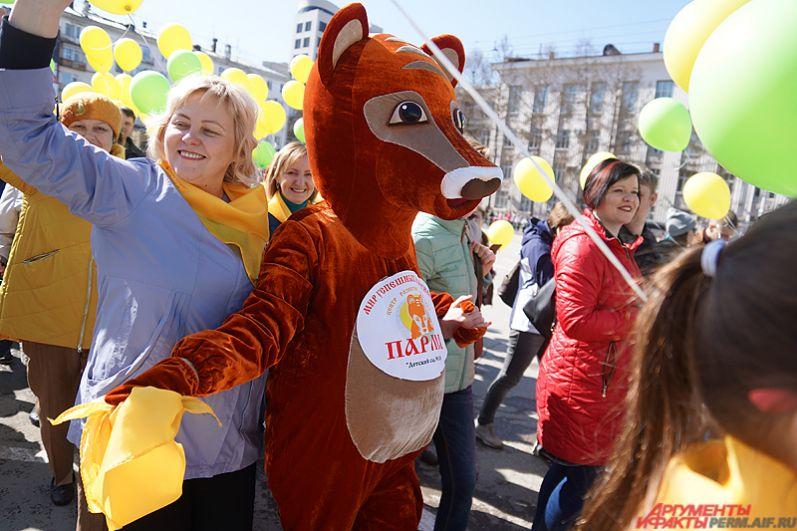 Первомайская демонстрация в Перми – одно из самых яркий событий весны.