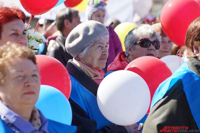 В мероприятии активно принимали участие и пенсионеры.