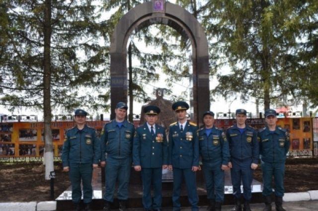 ВЧебоксарах появился монумент пожарным испасателям