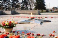 Мемориальный комплекс «Вечный огонь» в Иркутске.