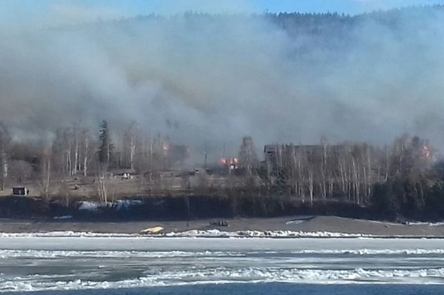 Пожар в Бубновке.