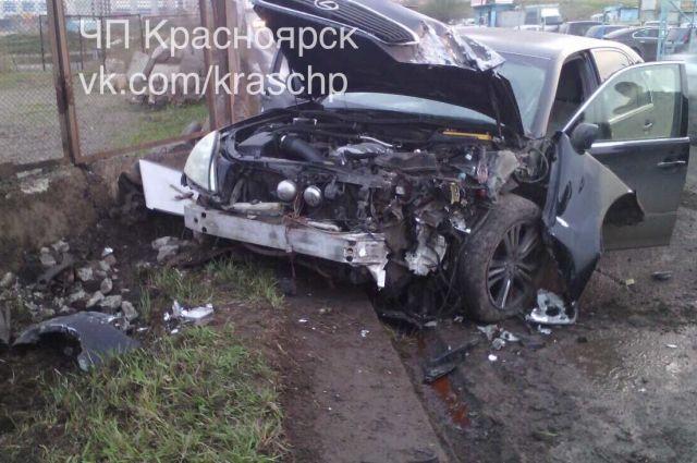 Столкновение произошло накануне днём в микрорайоне Солнечный краевого центра.