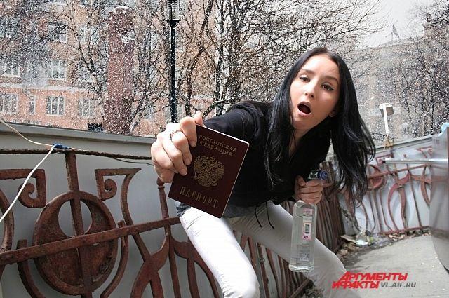 ВКрасноярском крае 16-летняя девушка обматерила полицейского