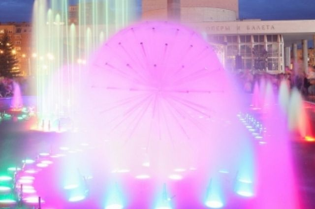Первый в Красноярске фонтан заработает раньше срока.