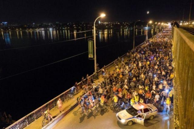 «Велоночь» вВоронеже превратится вбольшой фестиваль