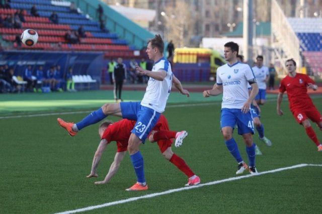 Калининградская «Балтика» обыграла на выезде «Мордовию» из Саранска.