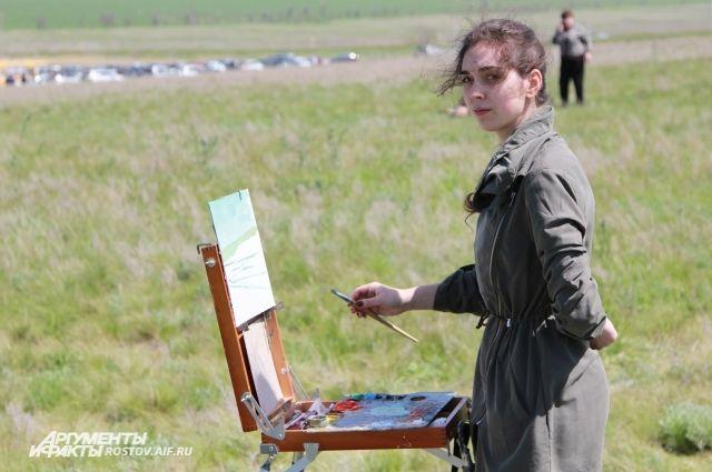 Любители природы собрались в посёлке Волочаевский.