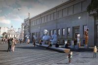 Музейный городок на Волхонке пытались создать ещё в 2000 г. И вот к сентябрю 2017 г. пространство от «Кропоткинской» до Боровицкойпл. получит общий дизайн-код «зоны искусств».