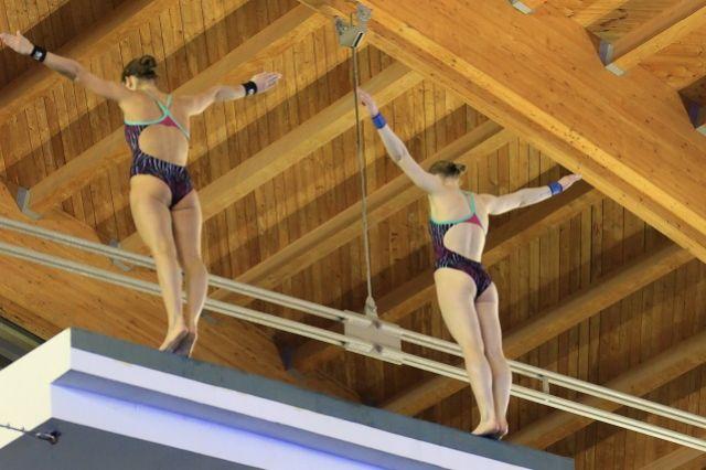 Пензенцы поборются за медали чемпионата России по прыжкам в воду.