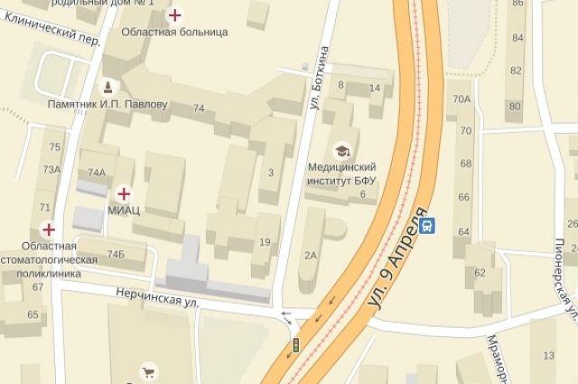 На перекрестке улиц Боткина и Нерчинской изменят направление главной дороги.