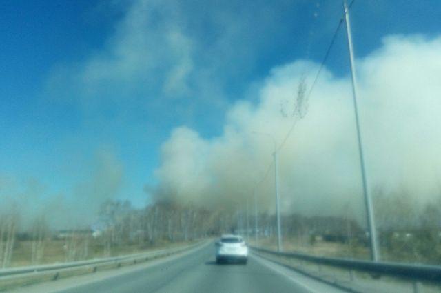 Третий класс пожарной опасности прогнозируют в Тюменской области