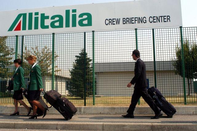 Авиакомпания Alitalia вновь спасена отбанкротства
