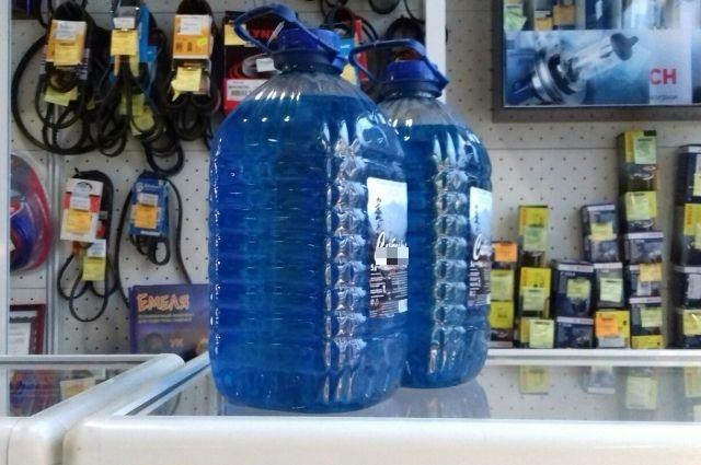 ВЕкатеринбурге вмагазине «Пивко» продавали страшную для здоровья стеклоомывающую жидкость