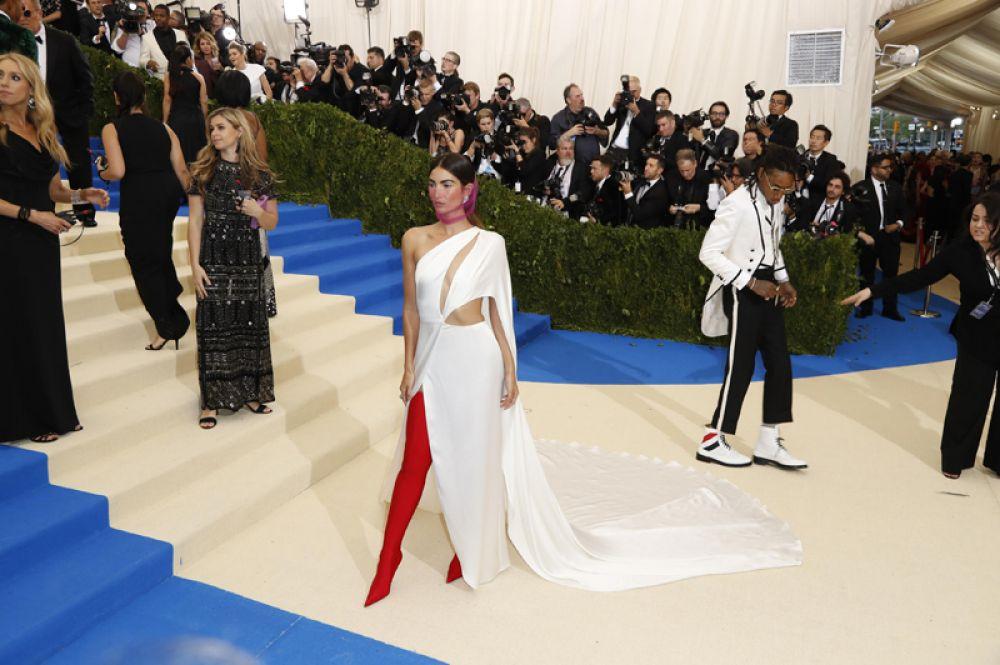 Модель, одна из «ангелов» Victoria's Secret Лили Олдридж.