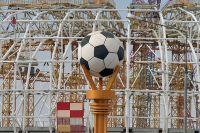 На территории строительства стадиона «Мордовия Арена».