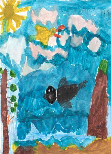 Участник №92 Саша Фомин, 5 лет.