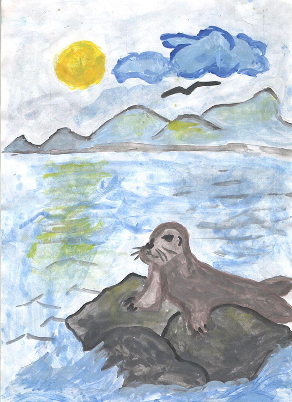Участник №99 Тимур Талаев, 5 лет.