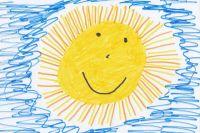 Конкурс рисунков «Солнышко в ладошках» пройдет для юных тюменцев