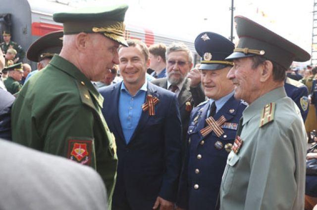 1 мая по российским городам из Иркутска отправился агитационный поезд «Армия Победы».