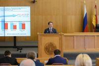 Губернатор особое внимание уделил главной задаче власти - выполнению социальных обязательств.