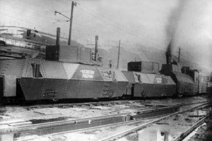У бронепоезда из Чусового было важное преимущество: корпус его защищала прочнейшая легированная сталь.