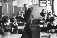 Бывший разведчик Петр Мацюк до и после войны работал учителем.