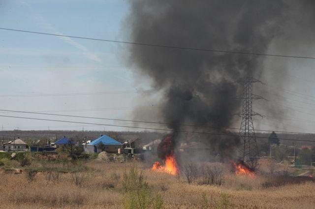 ВВоронежской области установили высокий класс пожарной опасности