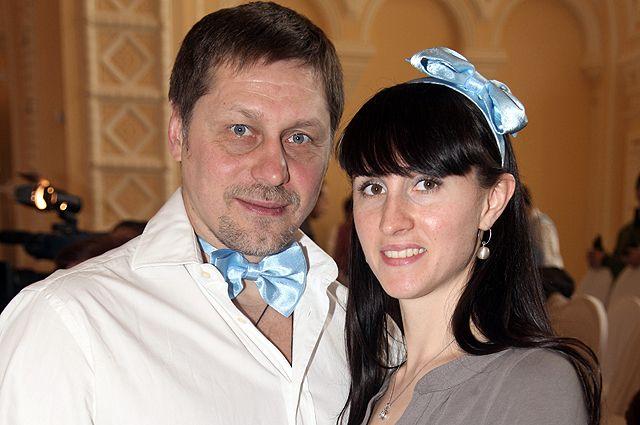 Балетмейстер Гедиминас Таранда с супругой.