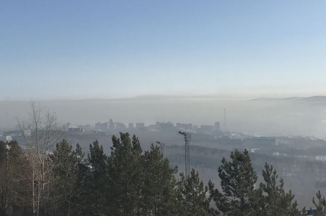 Загрязнители воздуха в Красноярске не соблюдают требования закона.