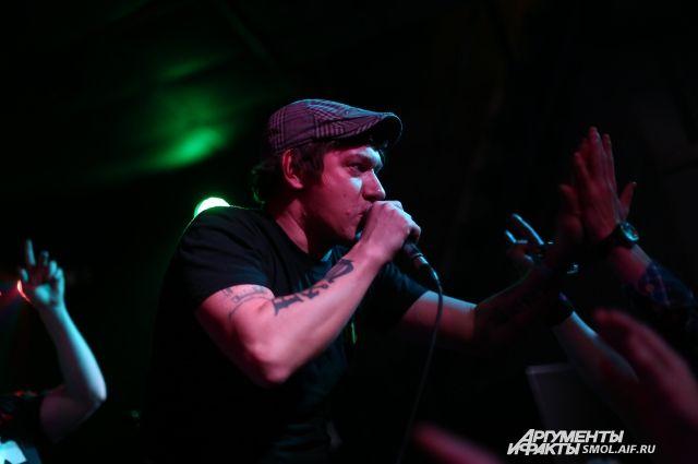 Фото из архива. Концерт группы «Кирпичи» в Смоленске в 2015 году.