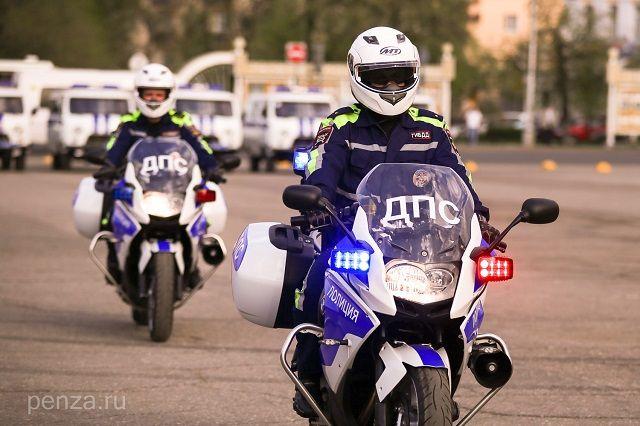 Новые скоростные мотоциклы приобретены за счет средств регионального бюджета.