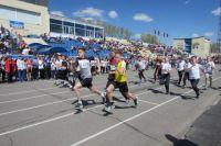 Начало легкоатлетической эстафеты запланировано на 5 мая 11:00 часов.