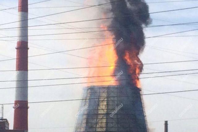 Утром произошел пожар на орской ТЭЦ