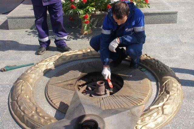 ВОренбуржье закончилась подготовка оборудования Вечных огней кДню Победы