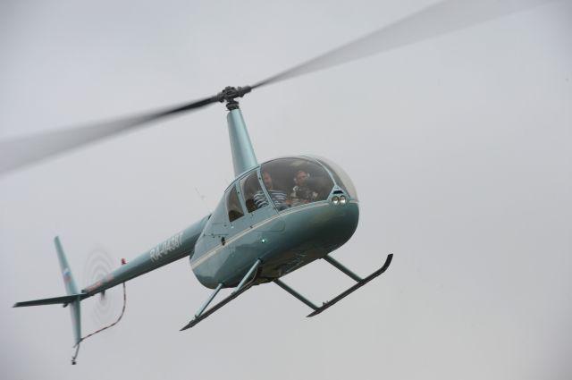 ВБашкирии разбился спасательный вертолет Robinson