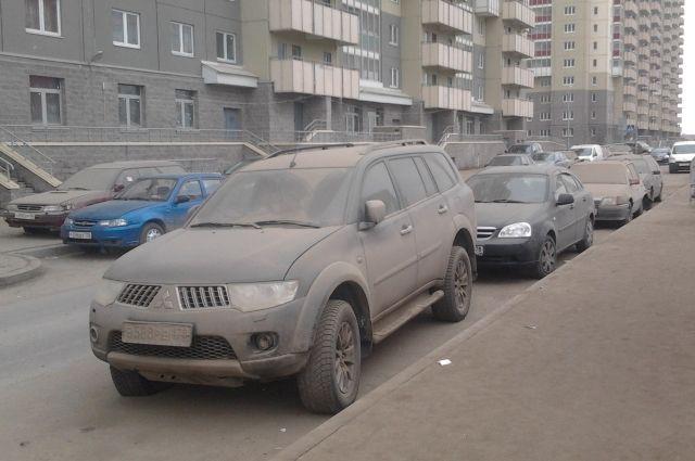 Активисты: Количество пыли вПетербурге превосходит норму в27 раз